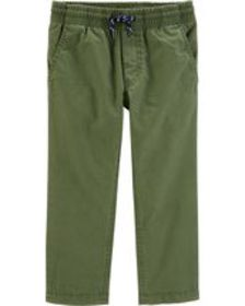 carters Toddler Boy Lined Pull-On Pants