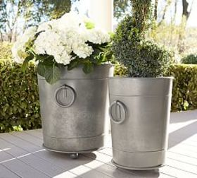 Pottery Barn Ring Planters