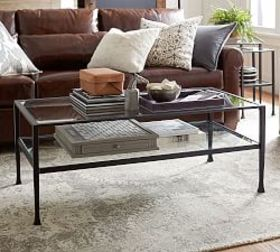 Pottery Barn Tanner Rectangular Coffee Table