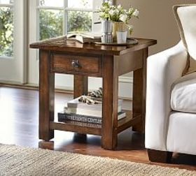Pottery Barn Benchwright Square End Table