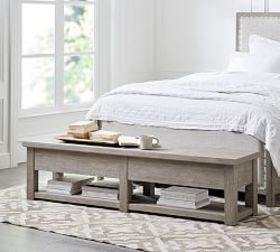 Pottery Barn Farmhouse Storage Bench