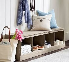 Pottery Barn Livingston Entryway Bench