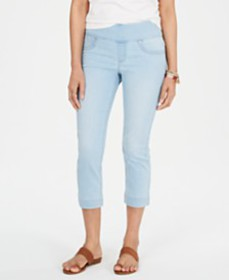 Style & Co Ella Pull-On Capri Jeans, Created for M