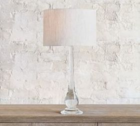 Pottery Barn Getty Glass Table Lamp Base