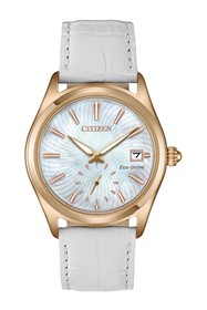 Citizen Women's Standard Embossed Leather Eco-Driv