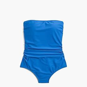 J. Crew Factory factory womens Strapless one-piece