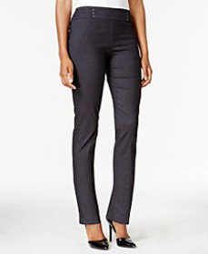 JM Collection Petite Studded Pull-On Pants, Create