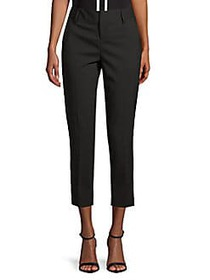 Alice + Olivia Stacey Slim Trousers BLACK