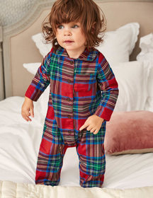 Boden Checked Flannel All-in-one