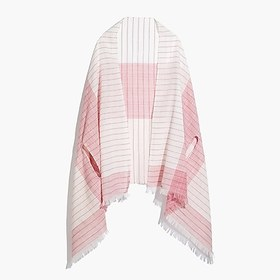 J. Crew Factory factory womens Embroidered cape-sc