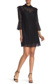Anna Sui Midnight Medley Lace Dress