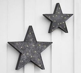 Pottery Barn Lit 4th Of July Star