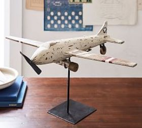 Pottery Barn Plane on Stand