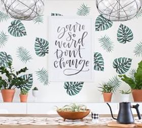 Pottery Barn Palm Branches Wall Decal