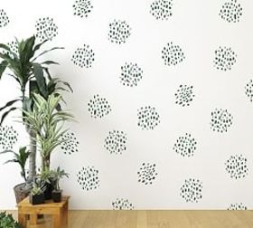 Pottery Barn Dot Clusters Wall Decal