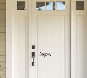 Pottery Barn Bonjour Wall Decal