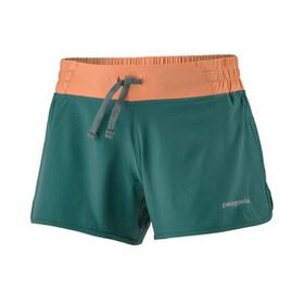 "W's Nine Trails Shorts - 4"", Wind Power: Micro Gre"
