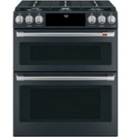 Café - 6.7 Cu. Ft. Self-Cleaning Slide-In Double O