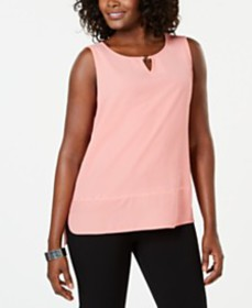 JM Collection Studded Keyhole Top, Created for Mac
