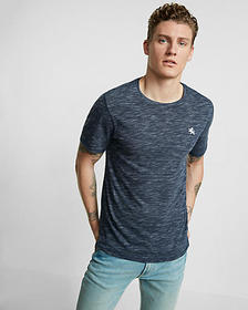 Express small lion space dyed crew neck tee
