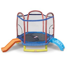 Little Tikes Climb and Slide Trampoline - 7ft