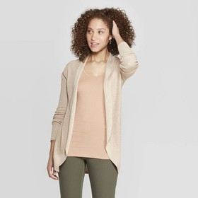 Women's Long Sleeve Open Cocoon Cardigan - A New D
