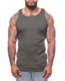 Buyers Picks heavy weight rib tank top (b&t)