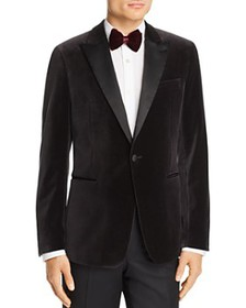 Theory - Chambers Velvet Slim Fit Tuxedo Jacket