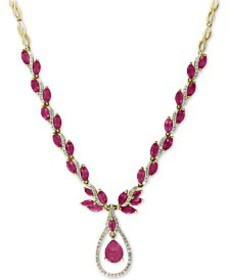 EFFY® Certified Ruby (10-5/8 ct. t.w.) and Diamond
