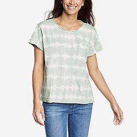 Women's Gypsum Short-Sleeve Pocket T-Shirt - T
