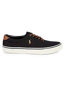 Polo Ralph Lauren Thorton Lace-Up Sneakers BLACK