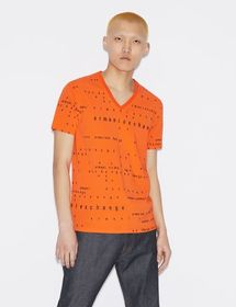 Armani T-SHIRT WITH LETTERING