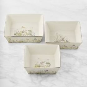 Floral Meadow Bakers, Set of 3