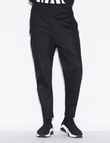 Armani TROUSERS WITH SIDE ZIPPERS
