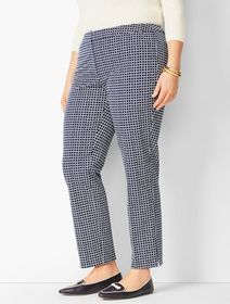 Talbots Plus Size Talbots Hampshire Ankle Pants -