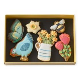 Careless Biscuits Spring Cookies, Set of 6