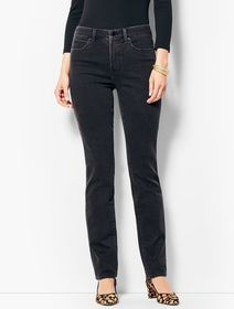 Talbots High-Waist Straight Leg Jeans - Galaxy Was