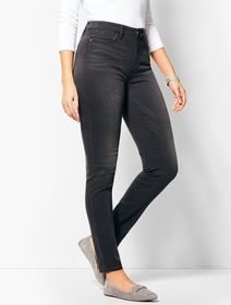 Talbots Denim Jegging - Curvy Fit/Steel Grey