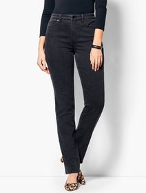 Talbots High-Waist Straight-Leg Jean - Curvy Fit/G