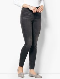 Talbots Comfort Stretch Denim Jeggings - Steel Gre