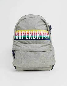 Superdry carnival backpack in rainbow