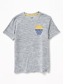 Graphic Breathe ON Go-Dry Tee for Boys