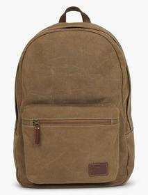 Lucky Brand Waxed Canvas Zip Backpack