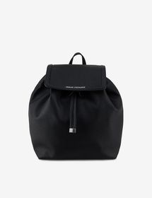 Armani BACKPACK WITH HAMMERED LEATHER EFFECT
