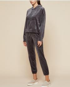 Juicy Couture Bead Embellished Lightweight Velour