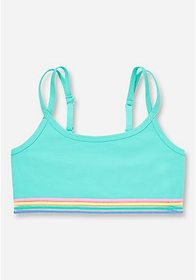 Justice Rainbow Band Bralette