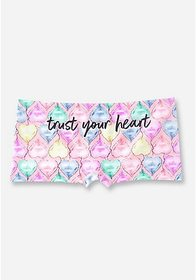 Justice Trust Your Heart Seamless Shortie
