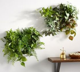 Pottery Barn Foliage Wall