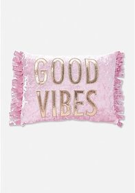 Justice Good Vibes Pillow
