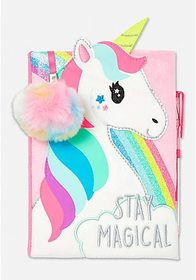 Justice Stay Magical Unicorn Journal